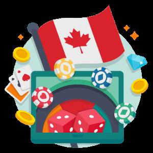 online casino in canada illustration